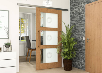 Neue Glasdesigns für Türen